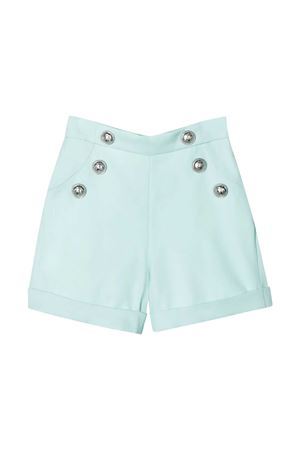 Shorts turchese Balmain kids teen BALMAIN KIDS | 30 | 6M6089MD570629T