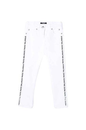 White straight-cut teen jeans Balmain kids BALMAIN KIDS | 9 | 6M6130MD900100T