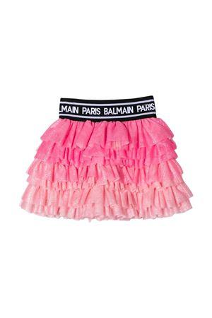Pink skirt Balmain kids teen BALMAIN KIDS | 15 | 6M7040MA980510T