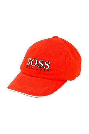 Cappellino rosso con logo frontale Boss kids BOSS KIDS | 75988881 | J0110541C