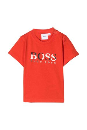 Red t-shirt Boss kids  BOSS KIDS | 8 | J0575641C