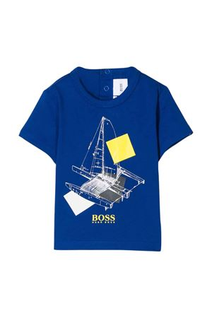 Blue t-shirt Boss kids  BOSS KIDS | 8 | J05760829