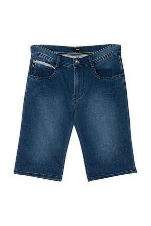 Grey denim bermuda shorts BOSS kids BOSS KIDS | 5 | J24630Z26