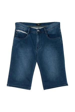 Bermuda denim grigio teen BOSS kids BOSS KIDS | 5 | J24630Z26T