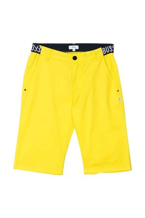 Yellow bermuda shorts Boss kids  BOSS KIDS | 5 | J24632535