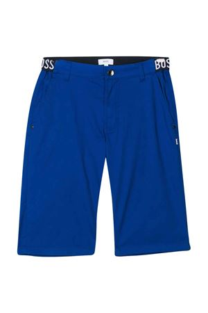 Bermuda teen blu con abbottonatura frontale BOSS kids BOSS KIDS | 5 | J24632829T