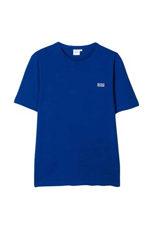 T-shirt blu Boss kids teen BOSS KIDS | 8 | J25E62829T