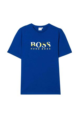 Blue t-shirt Boss kids  BOSS KIDS | 8 | J25E64829