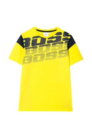Yellow t-shirt Boss kids teen  BOSS KIDS | 8 | J25E72535T