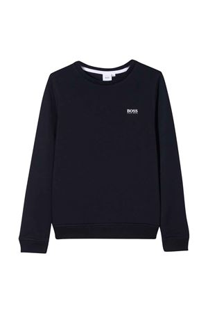Marine sweatshirt with logo BOSS kids  BOSS KIDS | -108764232 | J25G04849