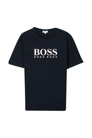 Boss kids teen navy blue t-shirt  BOSS KIDS | 8 | J25P13849T