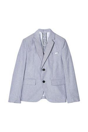 Grey jacket with white logo lining Boss Kids BOSS KIDS | 3 | J26395Z40