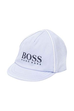 Cappello celeste con logo BOSS kids BOSS KIDS | 75988881 | J91100771
