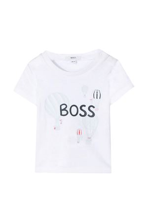 White t-shirt with frontal press Boss Kids BOSS KIDS | 8 | J9528310B