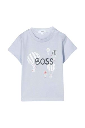 Light blue T-shirt Boss kids BOSS KIDS | 8 | J95283771