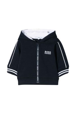 Marine sweatshirt with hood BOSS kids BOSS KIDS | -108764232 | J95287849