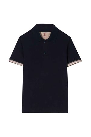 Blue teen polo shirt Brunello Cucinelli kids Brunello Cucinelli Kids | 2 | B0021T310C6134T