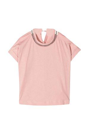 T-shirt rosa Brunello Cucinelli kids Brunello Cucinelli Kids | 8 | B0045T030C7911