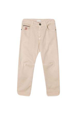 Sand jeans Brunello Cucinelli kids  Brunello Cucinelli Kids | 9 | B0Y16D300C6007
