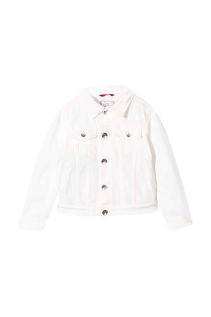 Brunello Cucinelli kids white denim jacket  Brunello Cucinelli Kids | 13 | B0Y16O900C7210