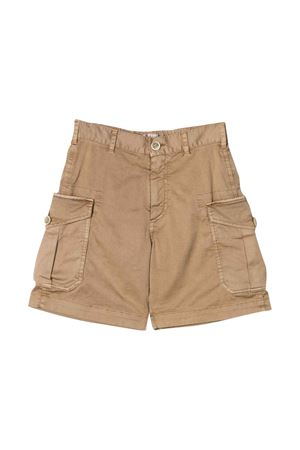 Brown bermuda shorts Brunello Cucinelli kdis Brunello Cucinelli Kids | 5 | B289LP900C5002