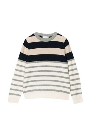 Sandy striped teen shirt Brunello Cucinelli kids Brunello Cucinelli Kids | 7 | B36M10100CS105T