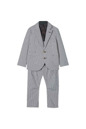 Two-pieces striped suit Brunello Cucinelli kids  Brunello Cucinelli Kids | 11 | BD487A102C440