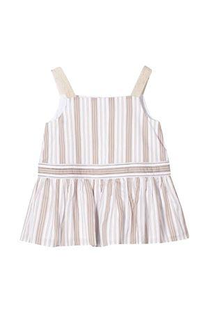 Blusa a righe con bretelle Brunello Cucinelli kids Brunello Cucinelli Kids | 485524886 | BF768T090C001