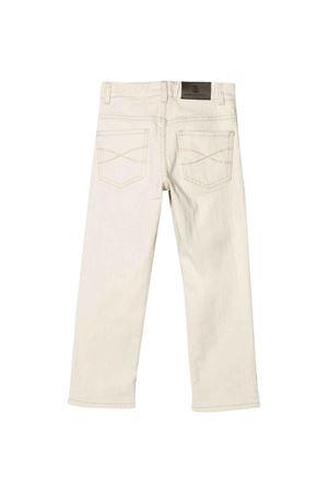 Beige straight-cut trousers Brunello Cucinelli kids Brunello Cucinelli Kids | 9 | BH119P405C006