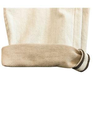 Pantalone beige taglio straight Brunello Cucinelli kids Brunello Cucinelli Kids | 9 | BH119P405C006