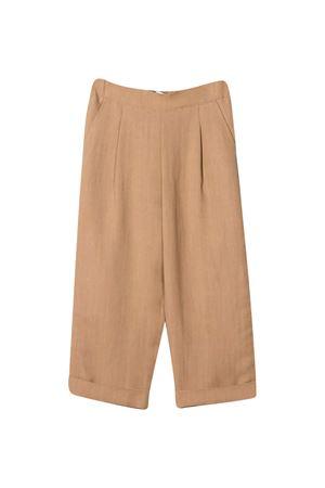 Pantalone cammello Brunello Cucinelli Kids Brunello Cucinelli Kids   9   BH126P014C2882