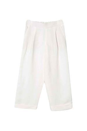 Pantalone bianco Brunello Cucinelli Kids Brunello Cucinelli Kids   9   BH126P014C600