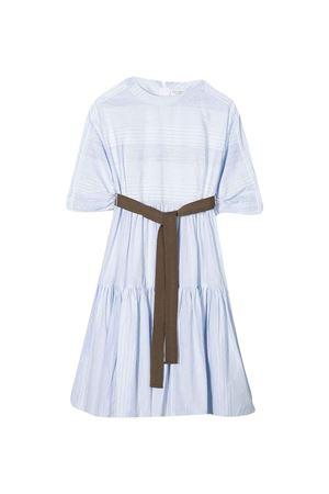 Brunello Cucinelli Kids blue striped dress  Brunello Cucinelli Kids | 11 | BH136A203C1500