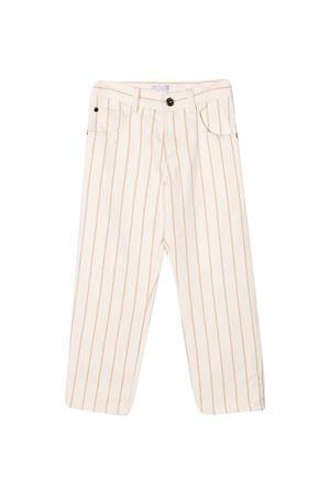 Pantaloni rosa Brunello Cucinelli Kids Brunello Cucinelli Kids   9   BH141P016C1747