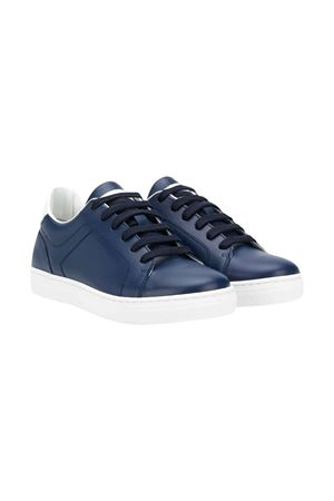 Blue sneakers with logo Brunello Cucinelli kids Brunello Cucinelli Kids | 12 | BSOSYZA100CU068