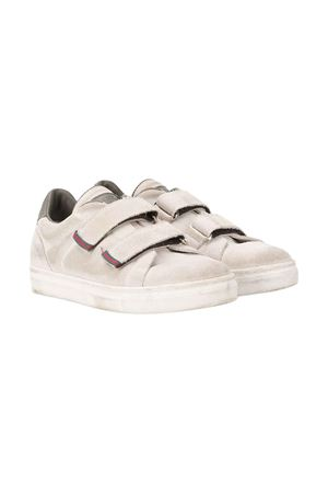 Teen sneakers with leather straps Brunello Cucinelli kids Brunello Cucinelli Kids | 12 | BVENAZA101CY672T