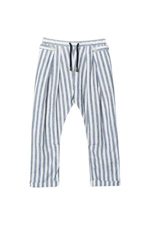 Brunello Cucinelli kids striped trousers  Brunello Cucinelli Kids | 9 | BW610P101C031
