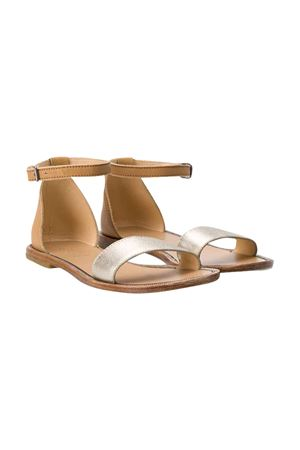 Brunello Cucinelli Kids gold sandals  Brunello Cucinelli Kids | 12 | BZF01ZC003C6430