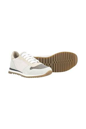Sneakers grigie Brunello Cucinelli kids Brunello Cucinelli Kids | 12 | BZSOFZG006C6626