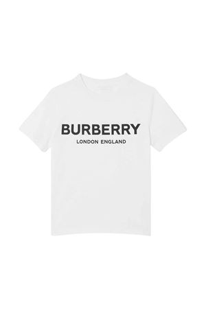 White t-shirt Burberry kids  BURBERRY KIDS | 8 | 8009235A1464