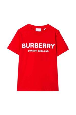 T-shirt rossa Burberry kids teen BURBERRY KIDS | 8 | 8011169A1460T