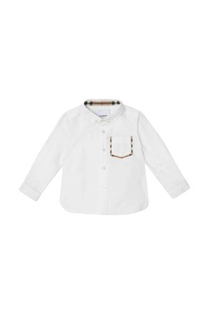 Camicia bianca Burberry kids BURBERRY KIDS | 5032334 | 8011566A1464