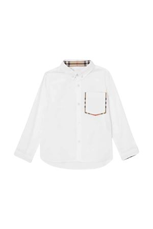 Camicia bianca Burberry kids BURBERRY KIDS | 5032334 | 8011567A1464