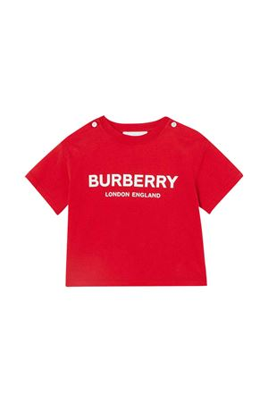 Red T-shirt Burberry kids BURBERRY KIDS | 8 | 8011946A1460