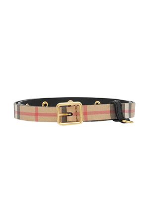 Cintura check in pelle Burberry kids BURBERRY KIDS | 22 | 8018635A1189