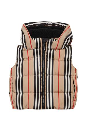 Check vest with hood Burberry kids BURBERRY KIDS | 38 | 8022108A7026