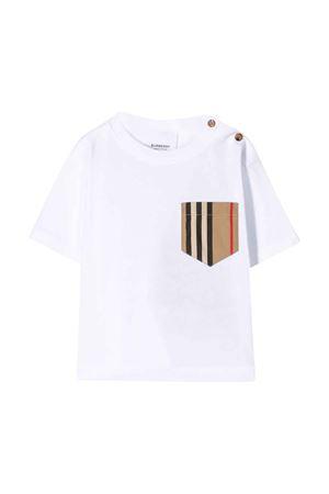 T-shirt bianca Burberry kids BURBERRY KIDS | 8 | 8022330A1464