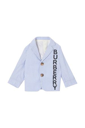 Blue striped jacket Burberry kids  BURBERRY KIDS | 3 | 8022353A1647