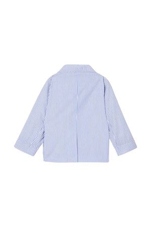 Giacca a righe blu Burberry kids BURBERRY KIDS | 3 | 8022353A1647