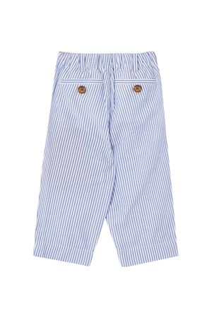 Pantaloni a righe blu Burberry kids BURBERRY KIDS | 9 | 8022354A1647